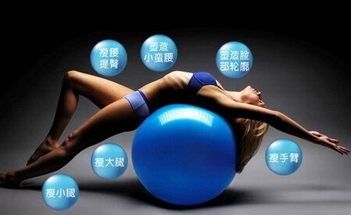 下面,小编为大家分享几招练瑜伽球的招式