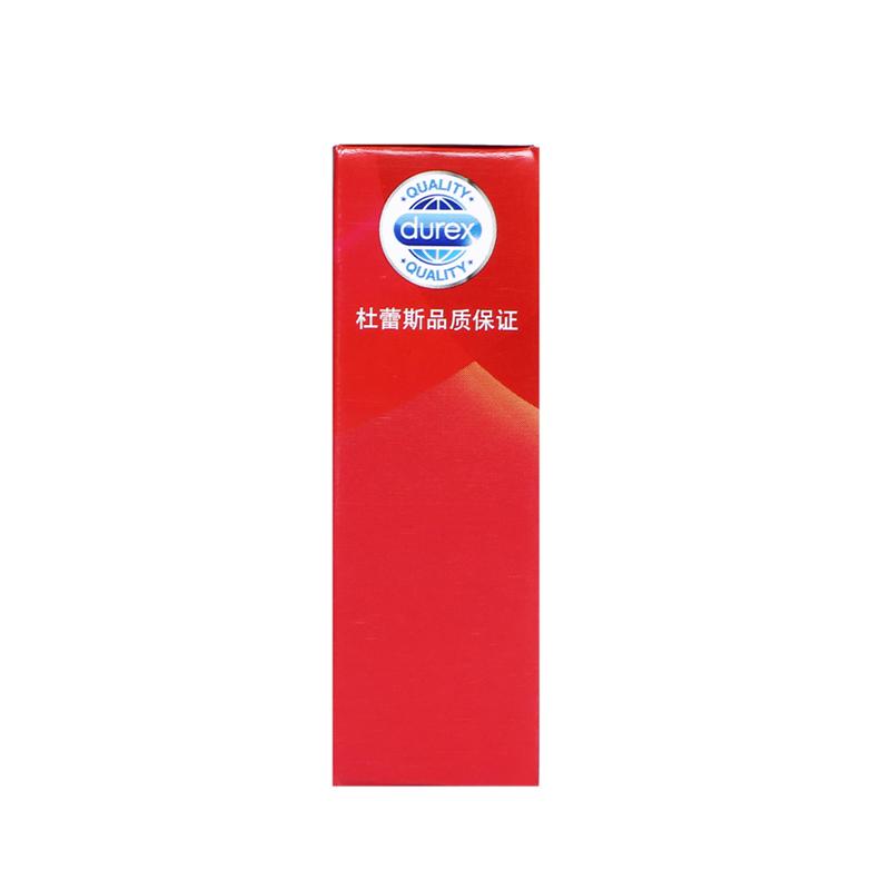 杜蕾斯薄款避孕套3只  宽度52.5毫米